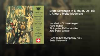 Erste Serenade in E Major, Op. 86: I. Allegro Molto Moderato