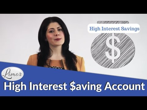 HIGH INTEREST SAVING ACCOUNTS | Financially Fabulous