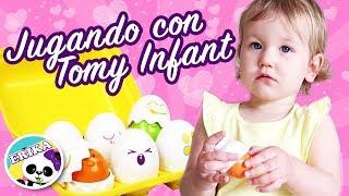 JUGANDO con TOMY INFANT - Juguetes HUEVOS ENCAJABLES   Mejores Juguetes   ERIKA GOLUBEVA