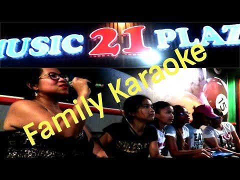 FAMILY KARAOKE NIGHT MUSIC 21 PLAZA MAKATI - PHILIPPINES 2018
