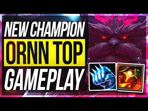 ORNN TOP GAMEPLAY! IS HE BROKEN TOO?? - League of Legends