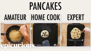4 Levels of Pancakes: Amateur to Food Scientist | Epicurious