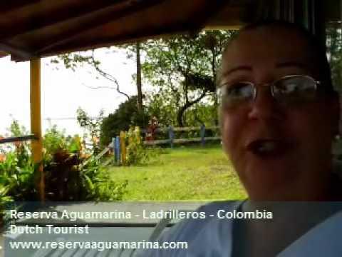 Dutch tourist visit Colombia: Reserva Aguamarina - Ladrilleros - Pacific Ocean - Cauca Valley.