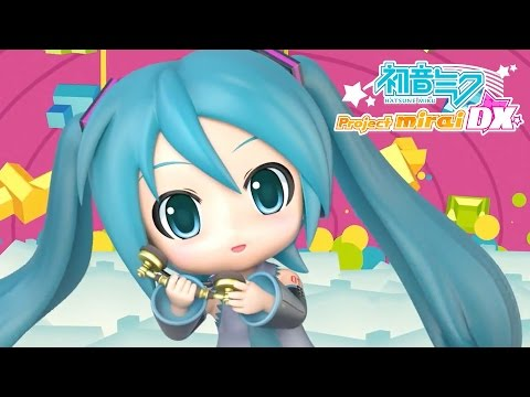 Hatsune Miku: Project Mirai DX - Launch Trailer