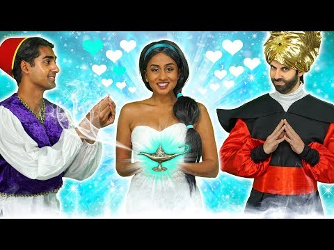 WILL JASMINE GET MARRIED TO ALADDIN OR JAFAR? Totally TV  2019