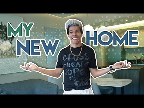 LIVING IN MY NEW HOUSE RAFA LIVING ALONE EXPERIMENT   POLINESIOS VLOGS
