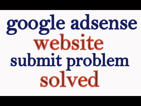 """google adsense can't submit a website """"we apologize for inconvenience"""" problem solved - தமிழ்"""