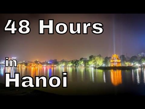 48 Hours in Hanoi Vietnam   Asia Vlog days 8/9