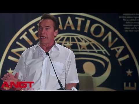 ANGT TV Arnold Schwarzenegger speaks at 2018 International Sports Hall of Fame