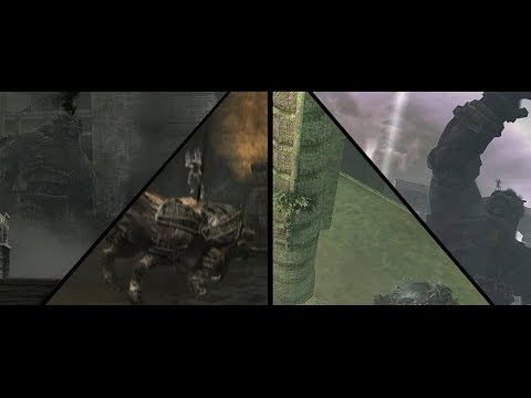 SotC: Killing Colossi during playable cutscenes