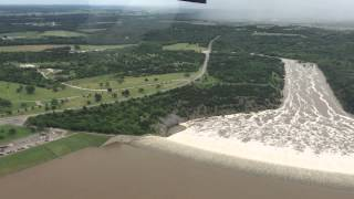 Lake Texoma Spillway Running Over 2015