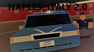 Roblox: Neapel, Italien 2.0 | John Blake arriva anche qua... | Polizia di Stato, Roblox; Agente |