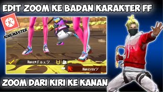 Download lagu CARA EDIT VIDEO FREE FIRE ZOOM KE BADAN KARAKTER FF DI KINEMASTER