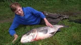 TV KRALUPY  Malý rybář ulovil velkou rybu