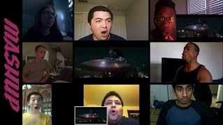 Repeat youtube video Marvel's Captain America: The Winter Soldier | Trailer 1 - Reactions Mashup