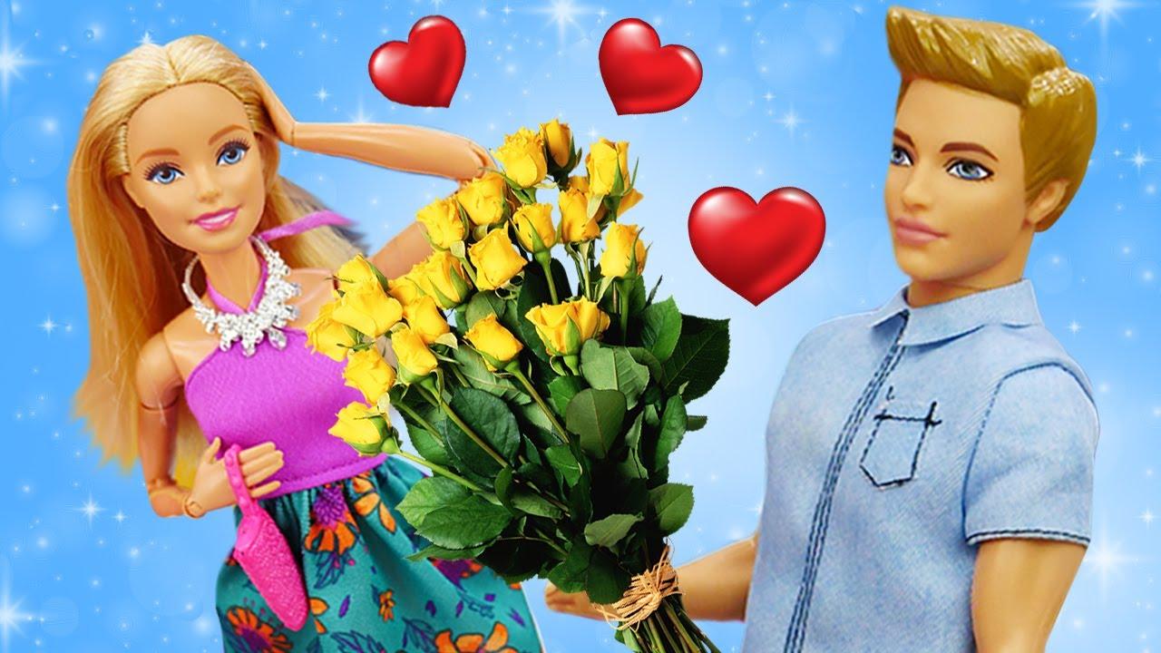 Barbie Ken kız oyunları. Kızlar için eğlenceli Barbie videoları