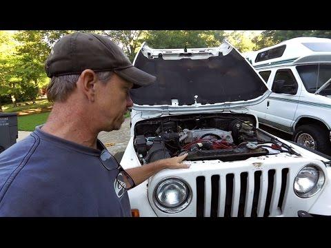 Jeep Wrangler TJ V8 conversion Ford 302 EFI