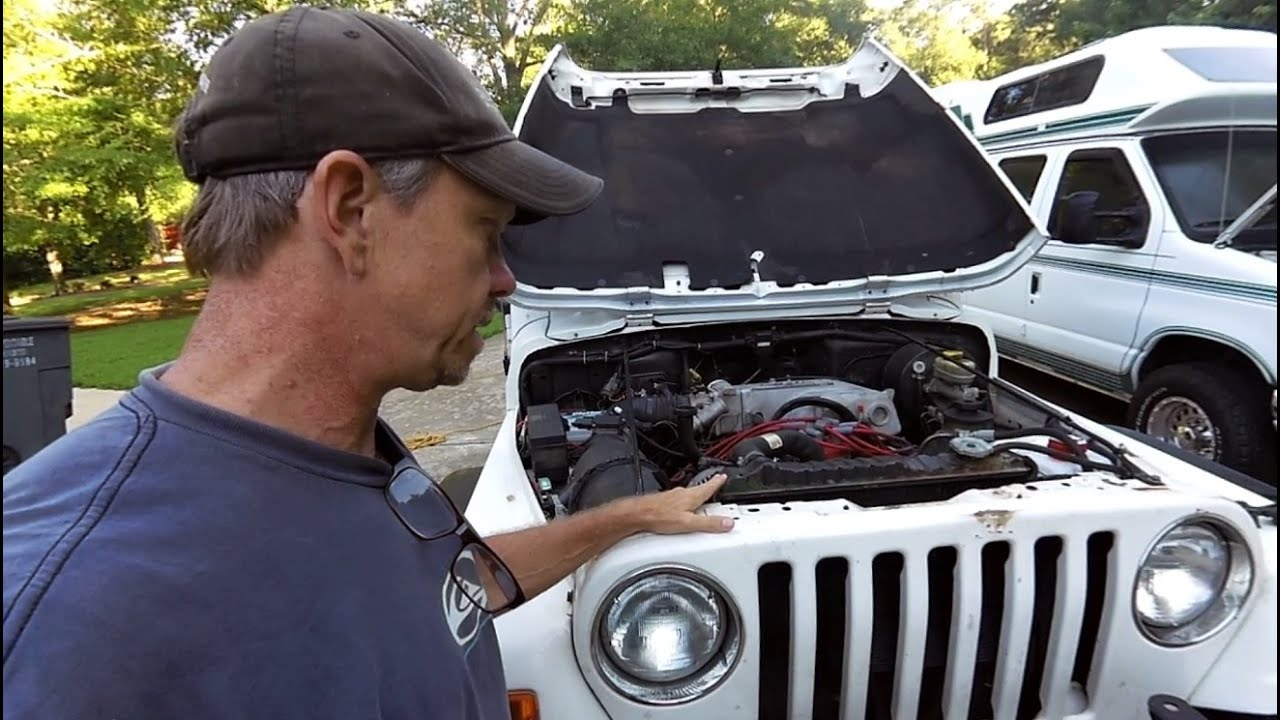 medium resolution of jeep wrangler tj v8 conversion ford 302 efi youtube rh youtube com jeep wiring diagram jeep