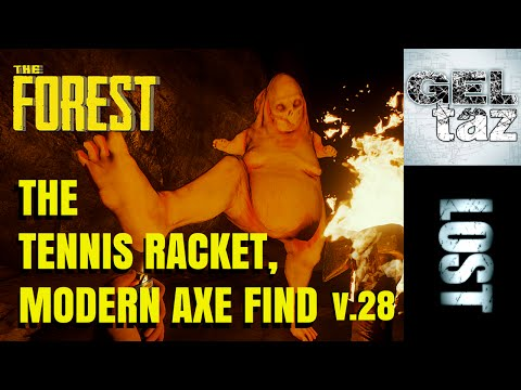 The Forest - Finding Tennis racket and Modern Axe