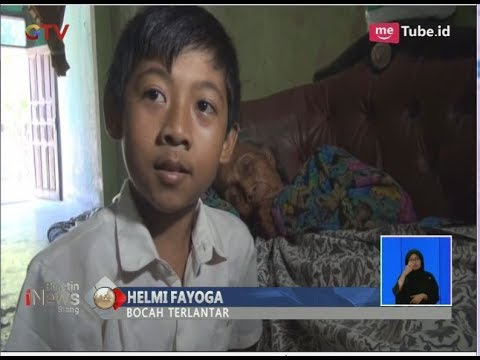 Ditinggal Orang Tua, Bocah 7 Tahun Rawat Nenek yang Sakit di Jombang - BIS 12/04