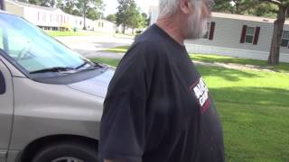Grandpa Gets Egged! (Prank!)