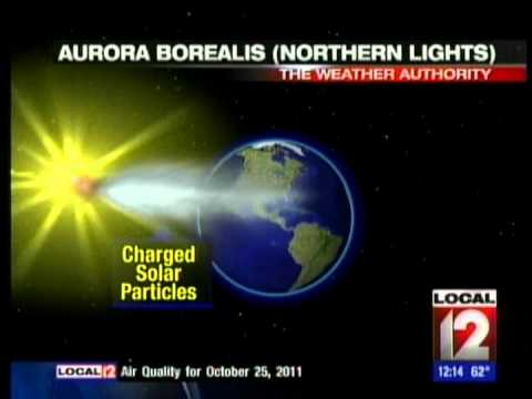 NORTHERN LIGHTS SEEN IN CINCINNATI OHIO WKRC 10 25 11