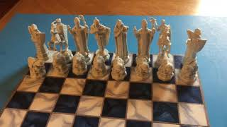 Harry Potter Wizard Chess Game & A Box
