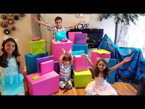 EID MORNING OPENING PRESENTS family fun kids vlog video