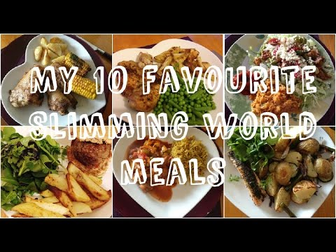 My 10 favourite slimming world meals youtube One you slimming world