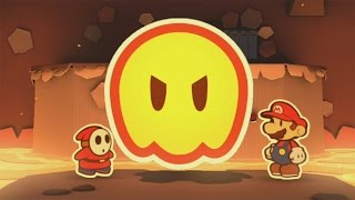 Paper Mario: Color Splash (Wii U) - 100% Walkthrough Part 26 - Redpepper Hat + Secret Exit