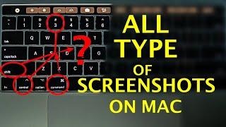 How to Take Screenshot on Mac - All Types of Screenshots   Mac Basics