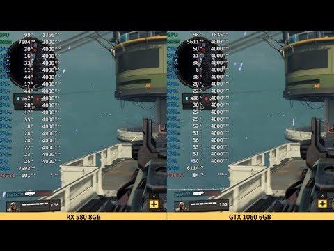 Geforce Gtx 1060 Vs Radeon Rx 580 Call Of Duty Black Ops 4