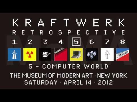Kraftwerk - Retrospective 5 - The Museum of Modern Art, New York, 2012-04-14