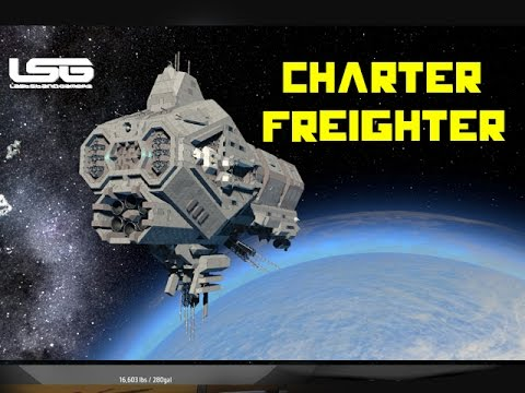 Space Engineers Uccs Tengo Charter Freighter Youtube