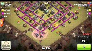 Clash of Clans War - Zero Second 3 Star