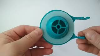 видео Мембрана для арматуры унитаза