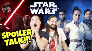 Star Wars: The Rise Of Skywalker SPOILER TALK!!!