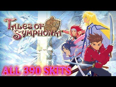 Tales Of Symphonia ALL 390 SKITS
