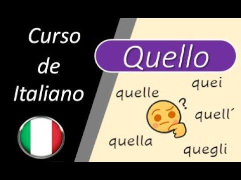 """Download Lezione 159-  Adjetivo """"Quello""""- Aggettivo """"QUELLO"""""""