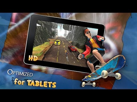 SKY SKATES 3D - Android Gameplay