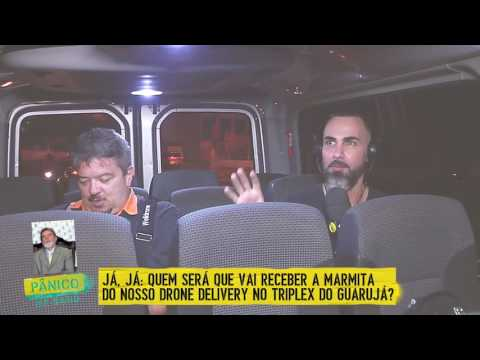 AO VIVO: DRONE DELIVERY MARMITA P/ LULA NO TRIPLEX DO GUARUJÁ - E02 02/04