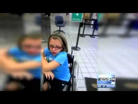 TSA Detains Wheelchair Bound Girl For Explosive Residue
