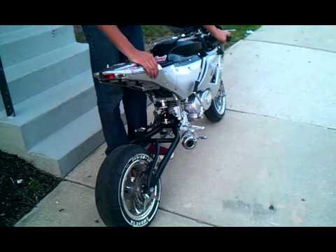 Tom X-18 110cc Street Fighter Super Pocket Bike   FunnyDog TV