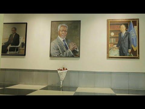 زعماء وسياسيون ومسؤولون أمميون يرثون كوفي عنان  - نشر قبل 2 ساعة