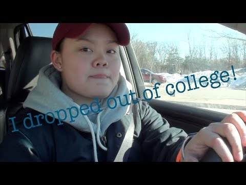 I dropped out of college! | StopExisting&StartLiving