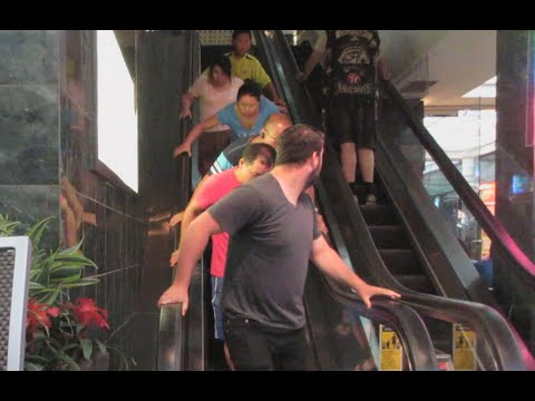 Magic Escalator Prank