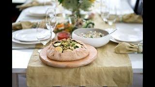 Праздничный семейный обед на Шавуот