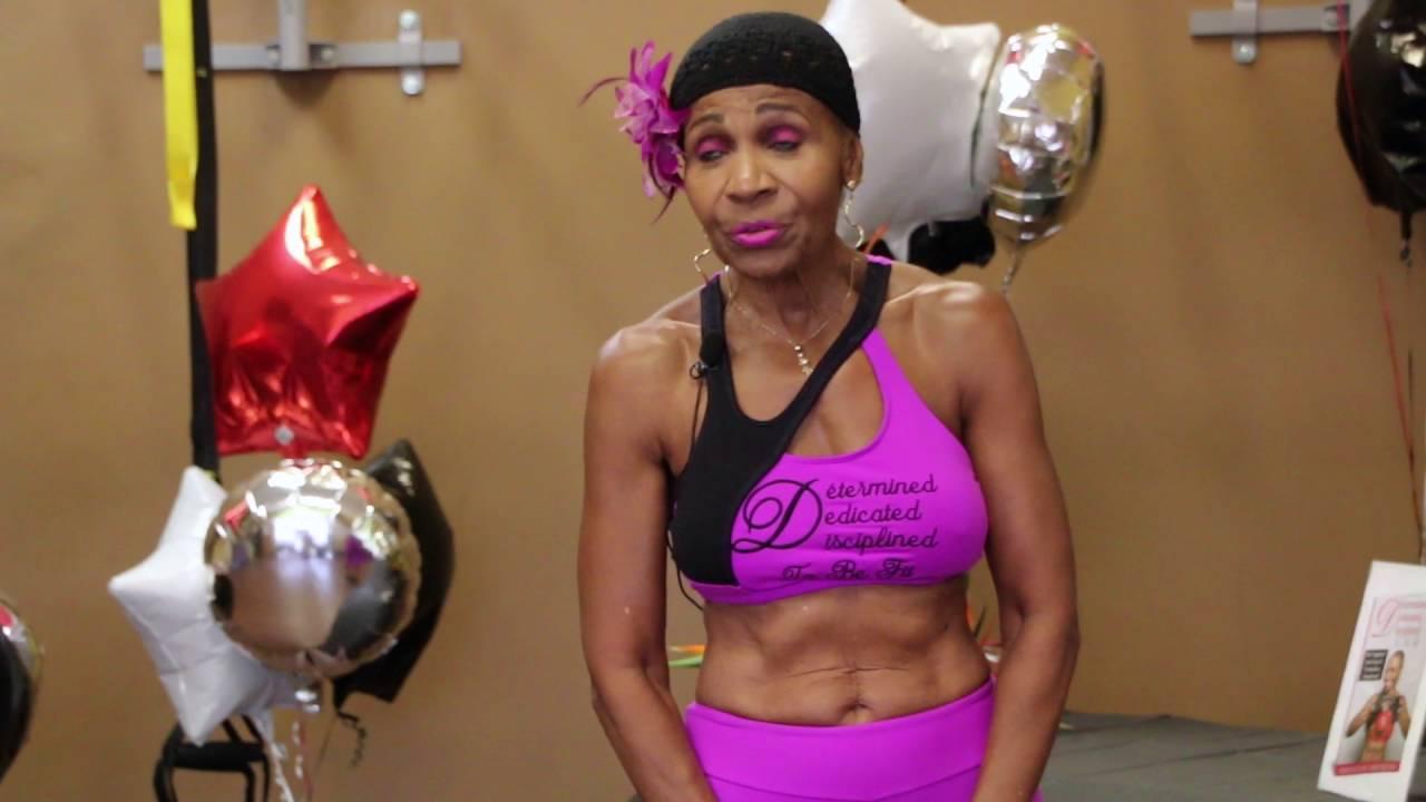 World's oldest female bodybuilder visits Norfolk: This