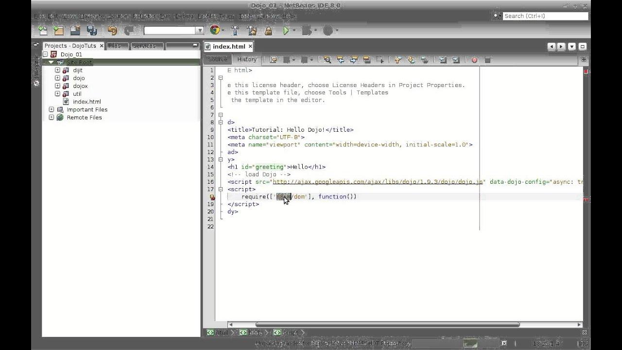 01_2 Introduccion a Dojo Toolkit - Dojo Tutorial - YouTube