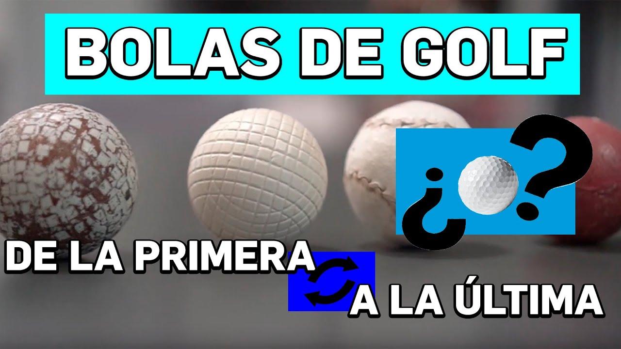 Repasamos Todas Las Bolas De Golf De La Historia Review Comparativa Rfegolf Youtube